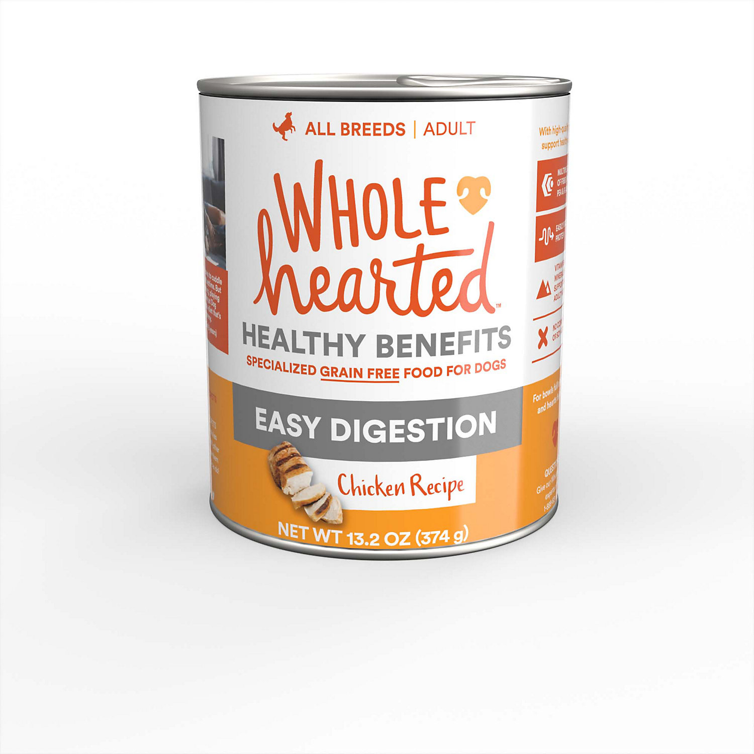 WholeHearted Easy Digestion Chicken Recipe Wet Dog Food - $26.28