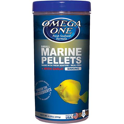 Omega One Garlic Marine Pellets - Small Sinking