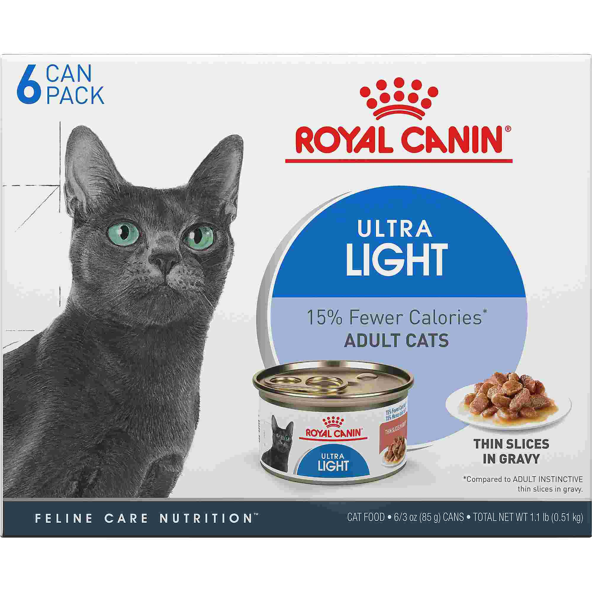 Royal Canin Feline Health Nutrition Ultra Light Wet Cat
