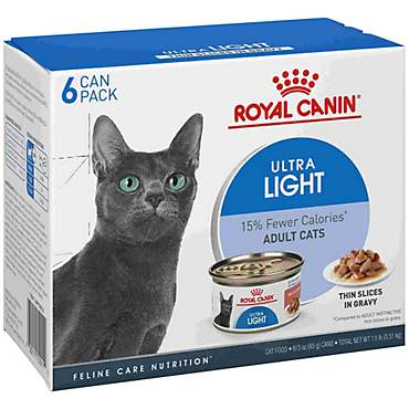 Royal Canin Feline Health Nutrition Ultra Light Wet Cat Food Multipack