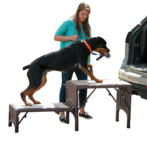 Pet Gear Free-Standing Foldable Pet Stair