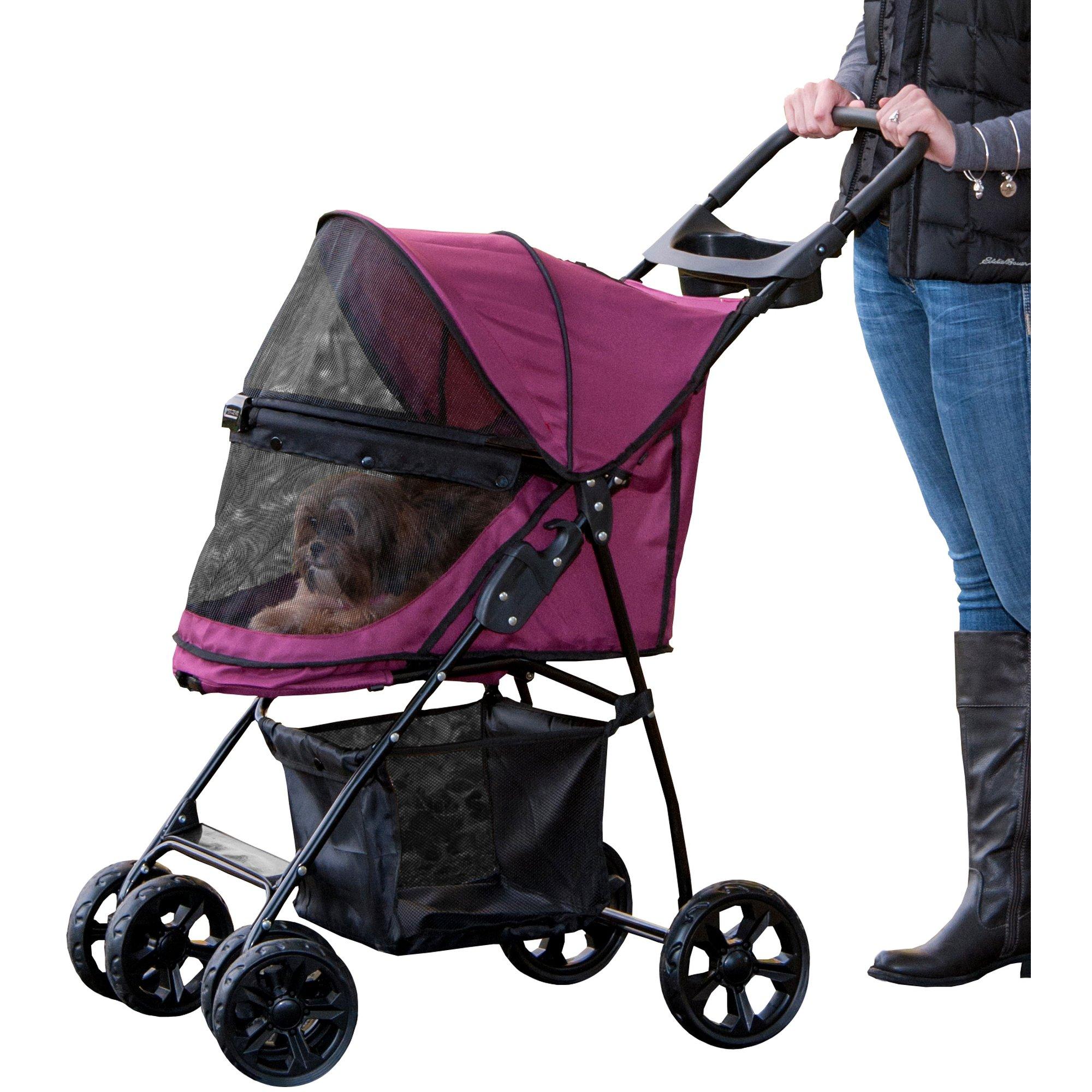 Pet Gear Happy Trails Lite No-Zip Pet Stroller in ...
