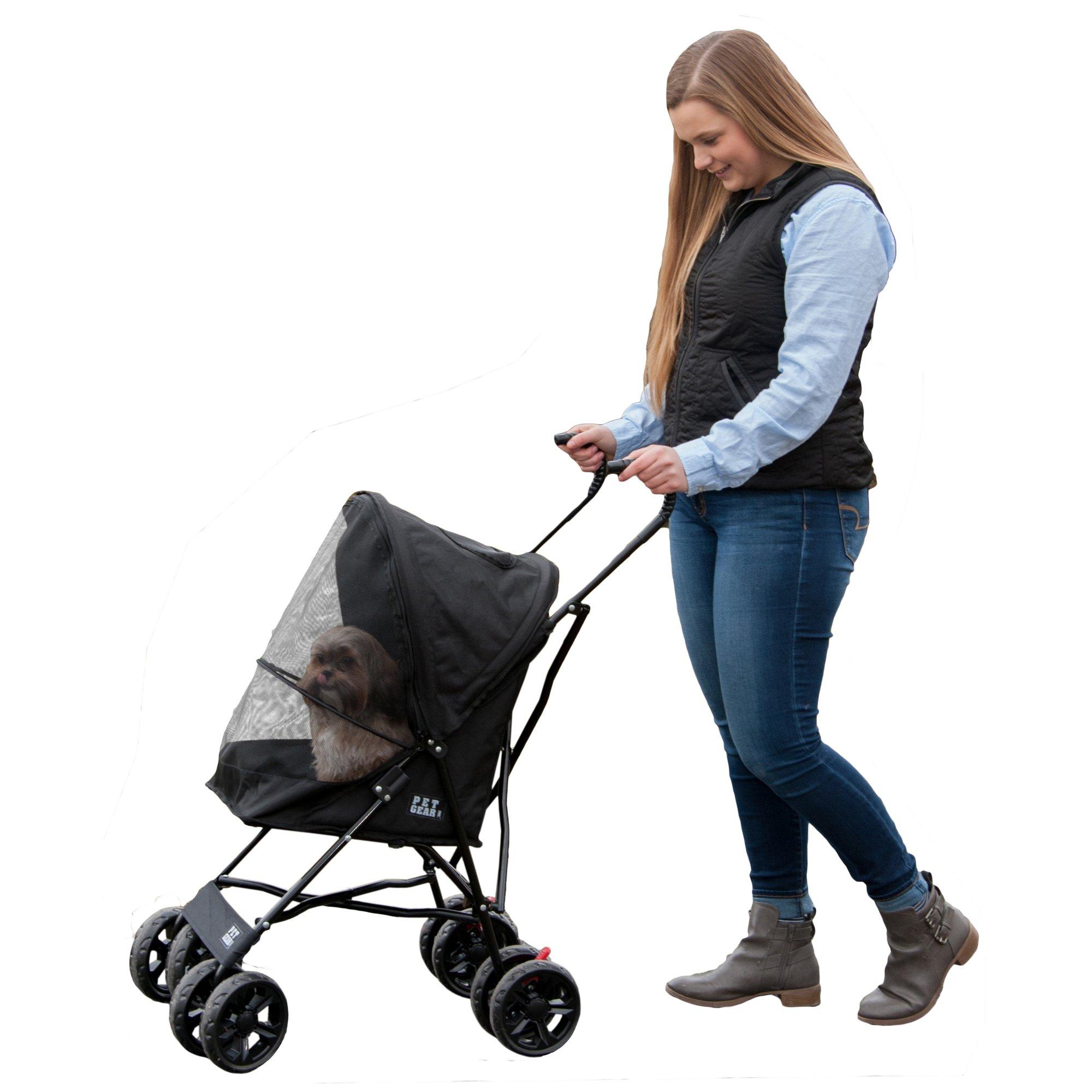 Pet Gear Travel Lite Pet Stroller in Black | Petco