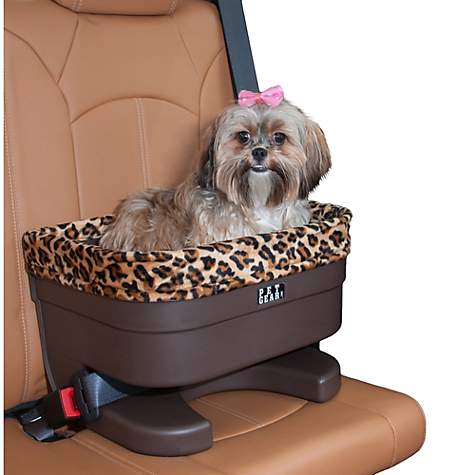 pet gear bucket seat booster in chocolate and sage petco. Black Bedroom Furniture Sets. Home Design Ideas