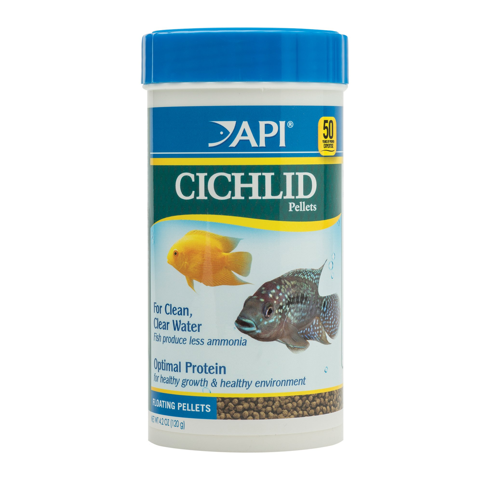 Api cichlid pellets floating pellets fish food petco for Petco fish food