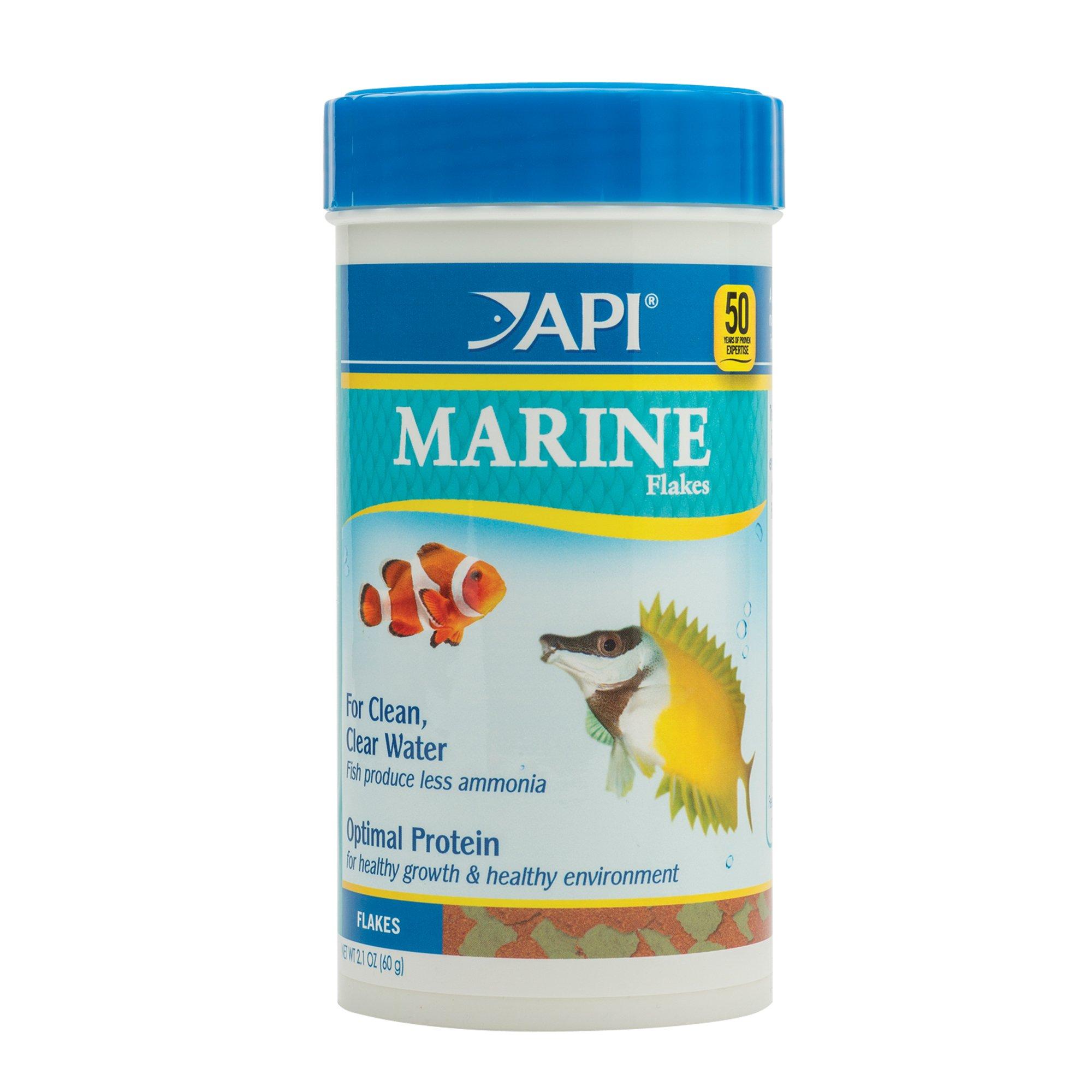 Api marine flakes fish food petco for Petco fish food