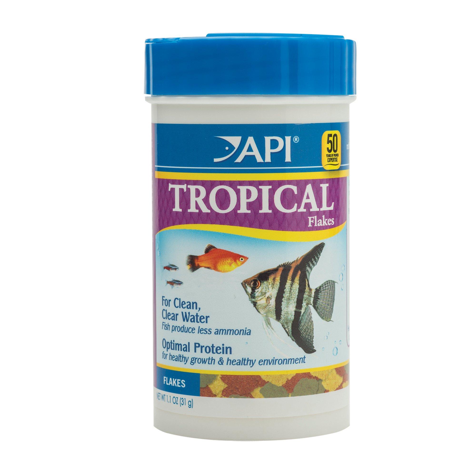 Api tropical flakes fish food petco for Petco fish food