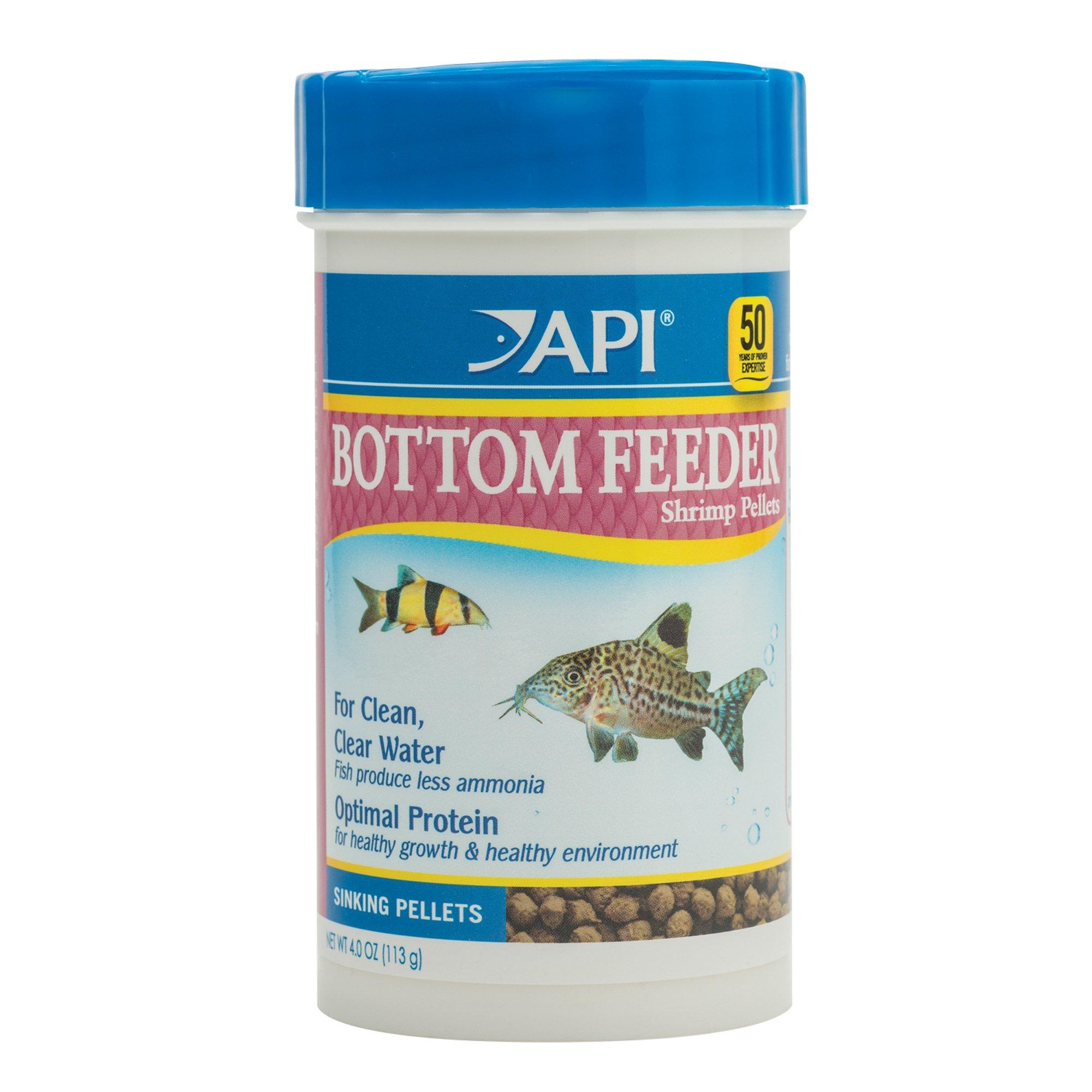 Api bottom feeder shrimp pellets fish food petco for Feeder fish petco
