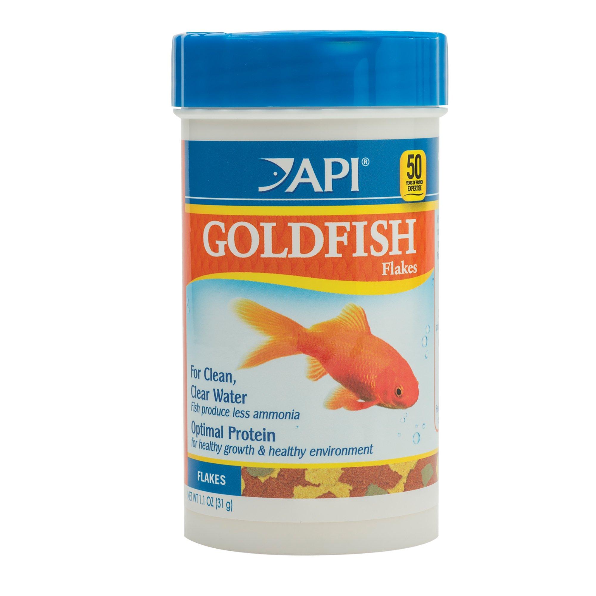 Api goldfish flakes fish food petco for Petco fish food