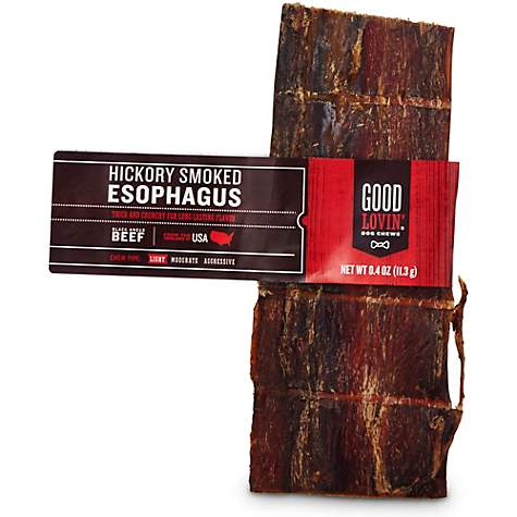 Good Lovin' Hickory Smoked Esophagus Dog Chew