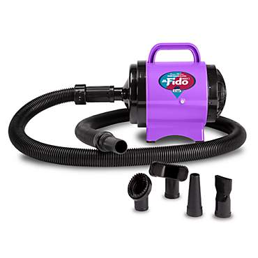 B-Air Fido Max 1 Dog Dryer - Cesar Millan Grooming Collection, Purple