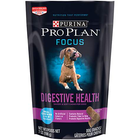 Purina Pro Plan Focus Digestive Health Real Chicken Dog Treats