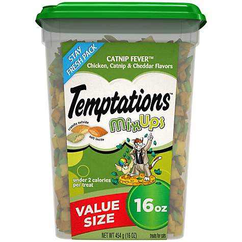 Temptations Mixups Catnip Fever Cat Treats