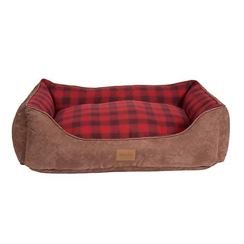 Pendleton Plaid Kuddler in Red Ombre