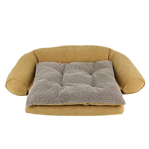 Carolina Pet Ortho Sleeper Comfort Couch in Caramel