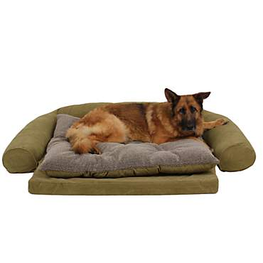Carolina Pet Ortho Sleeper Comfort Couch in Sage
