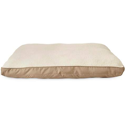 Harmony Tan Lounger Dog Bed