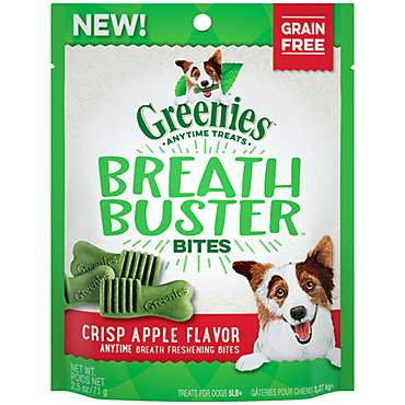 Greenies Breath Buster Bites Crisp Apple Flavor Treats for Dogs