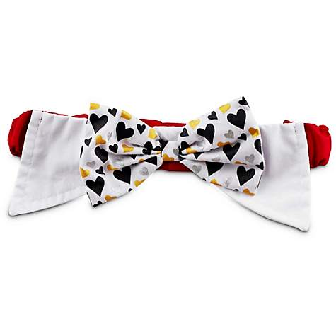 Love My Pup Heartburst Dog Bow Tie