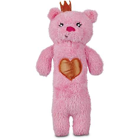Love My Pup Queen Bear Plush Stick Dog Toy