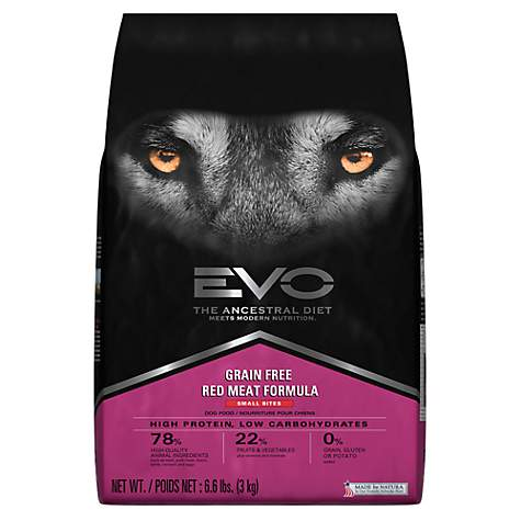 EVO Grain Free Red Meat Small Bites Dry Dog Food