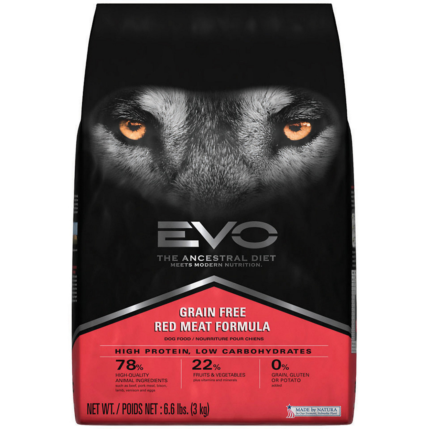 751485126777 upc evo red meat formula 66 lb upc lookup for Evo red meat dog food