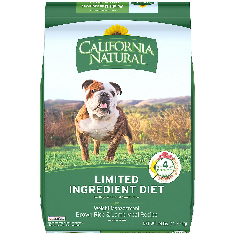 California Natural Dog Food Petco