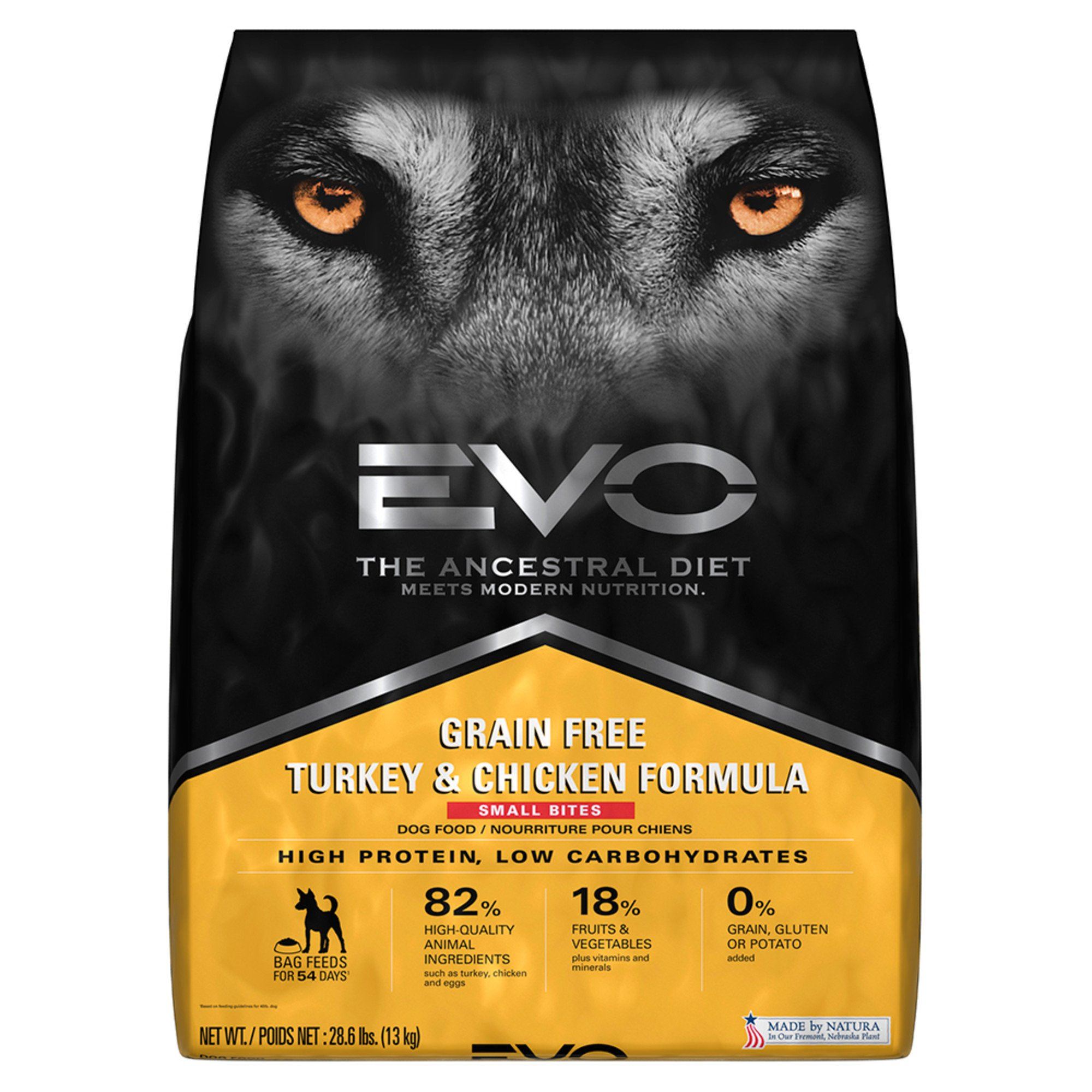 Dog food brands at everyday low prices petco evo grain free turkey and chicken small bites dry dog food sciox Gallery