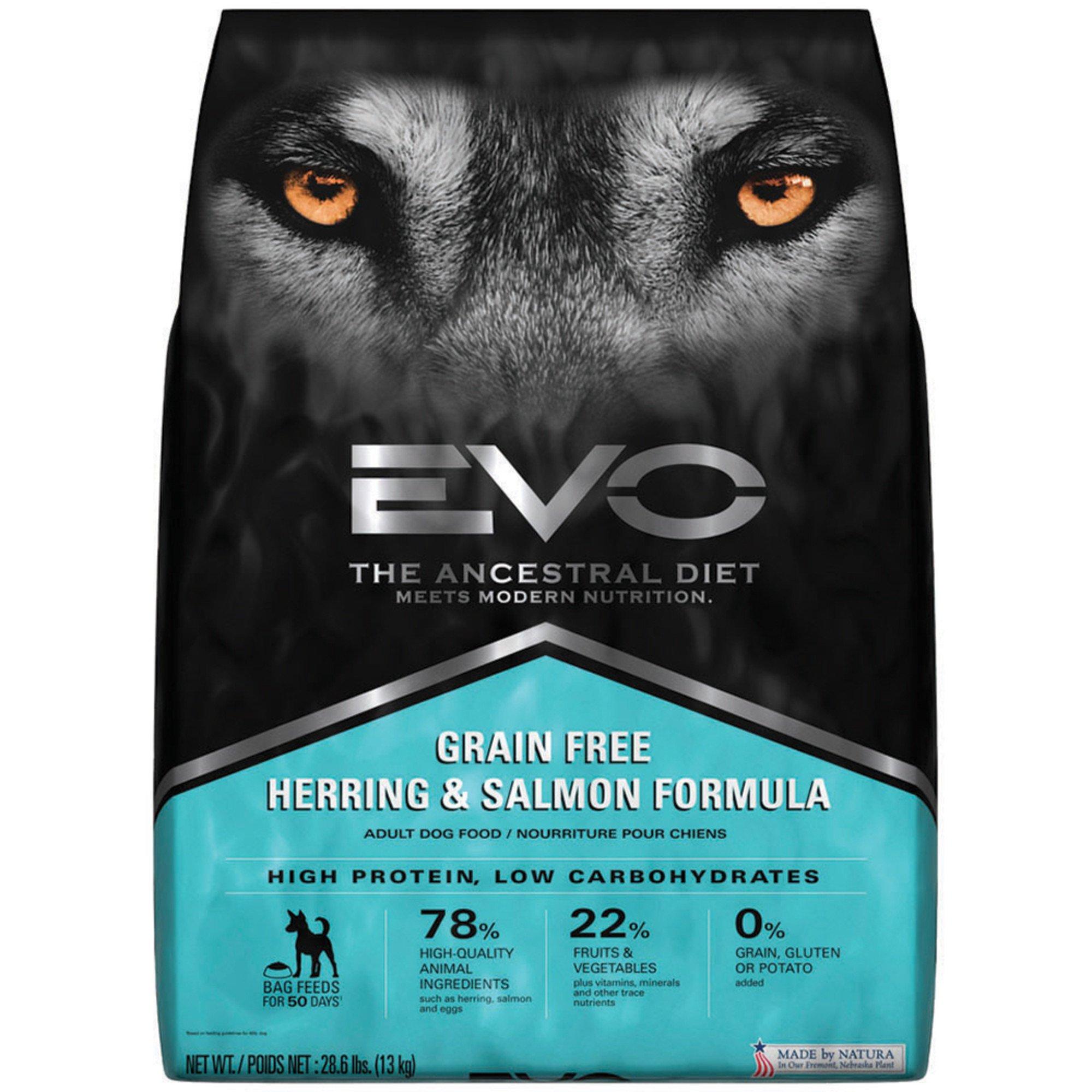 EVO Grain Free Herring & Salmon Adult Dry Dog Food | Petco