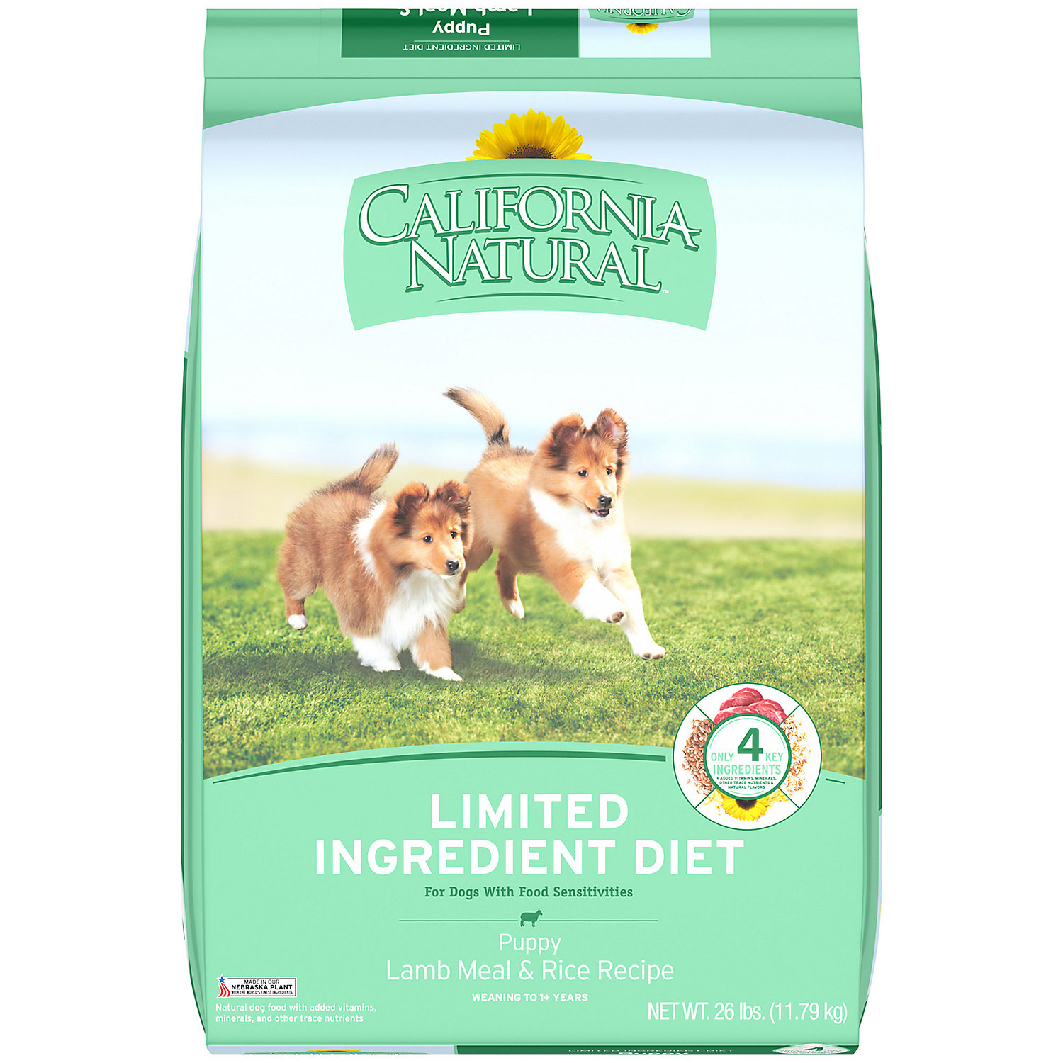 California Natural Limited Ingredient Diet Lamb Meal And Rice Dry Puppy Food