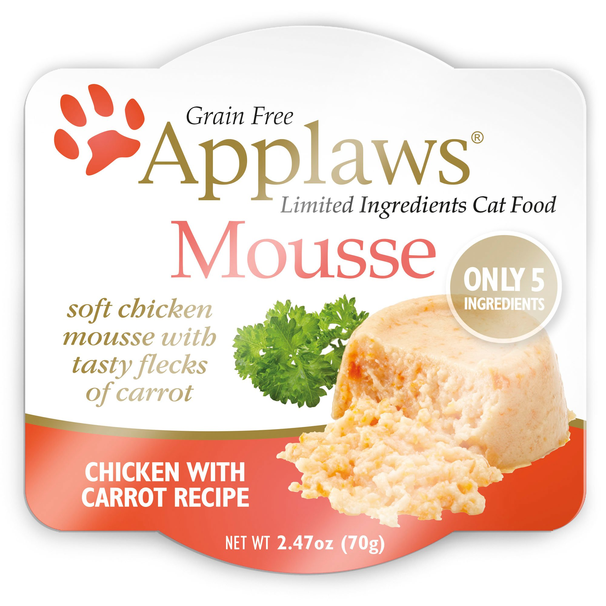 Applaws Chicken And Carrot Mousse Wet Cat Food Petco
