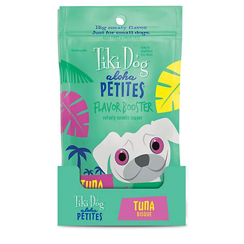 Tiki Dog Aloha Petites Tuna Bisque Small Breed Dog Treat Pouches