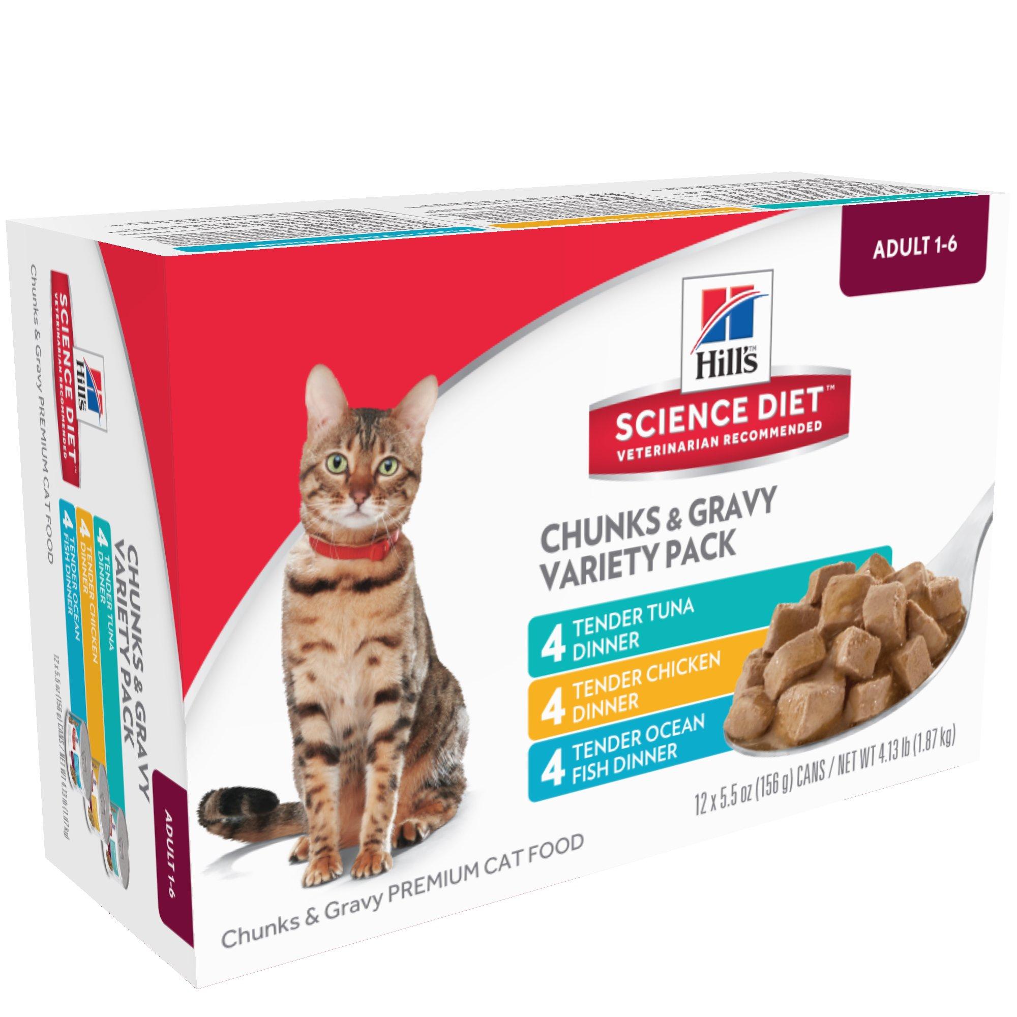 Wellness Wet Cat Food Variety Packs