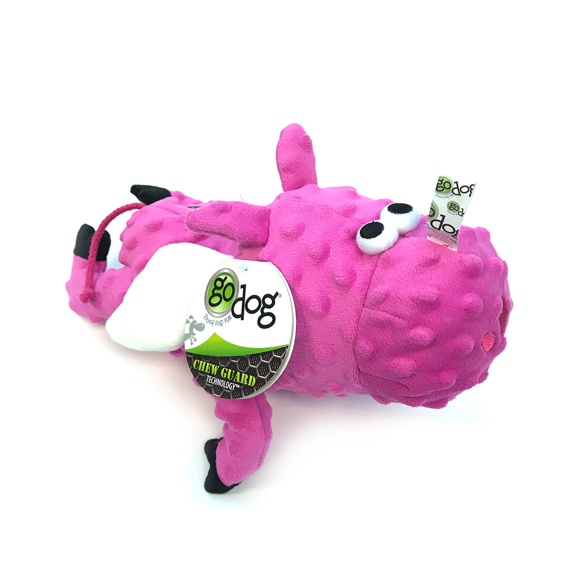 Godog Flying Pink Pig With Bubble Plush Toy Petco