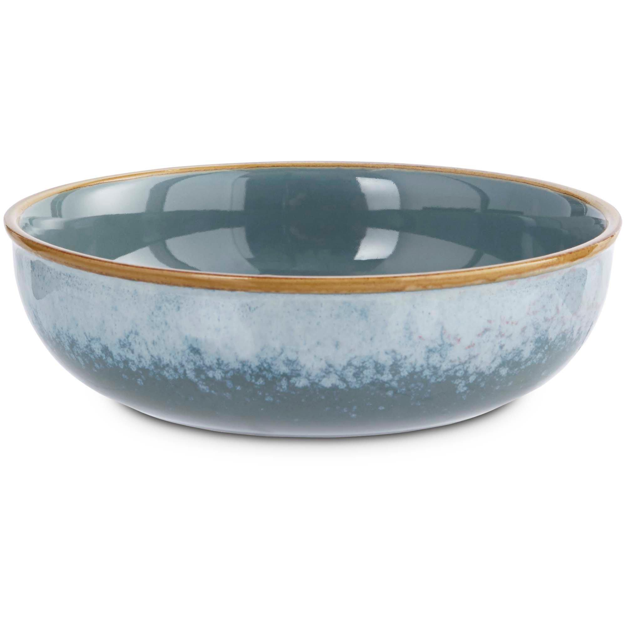 Serenity blue ceramic dog bowl petco for Petco fish bowl