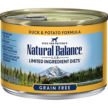 Natural Balance L.I.D. Limited Ingredient Diets Duck & Potato Formula Wet Dog Food