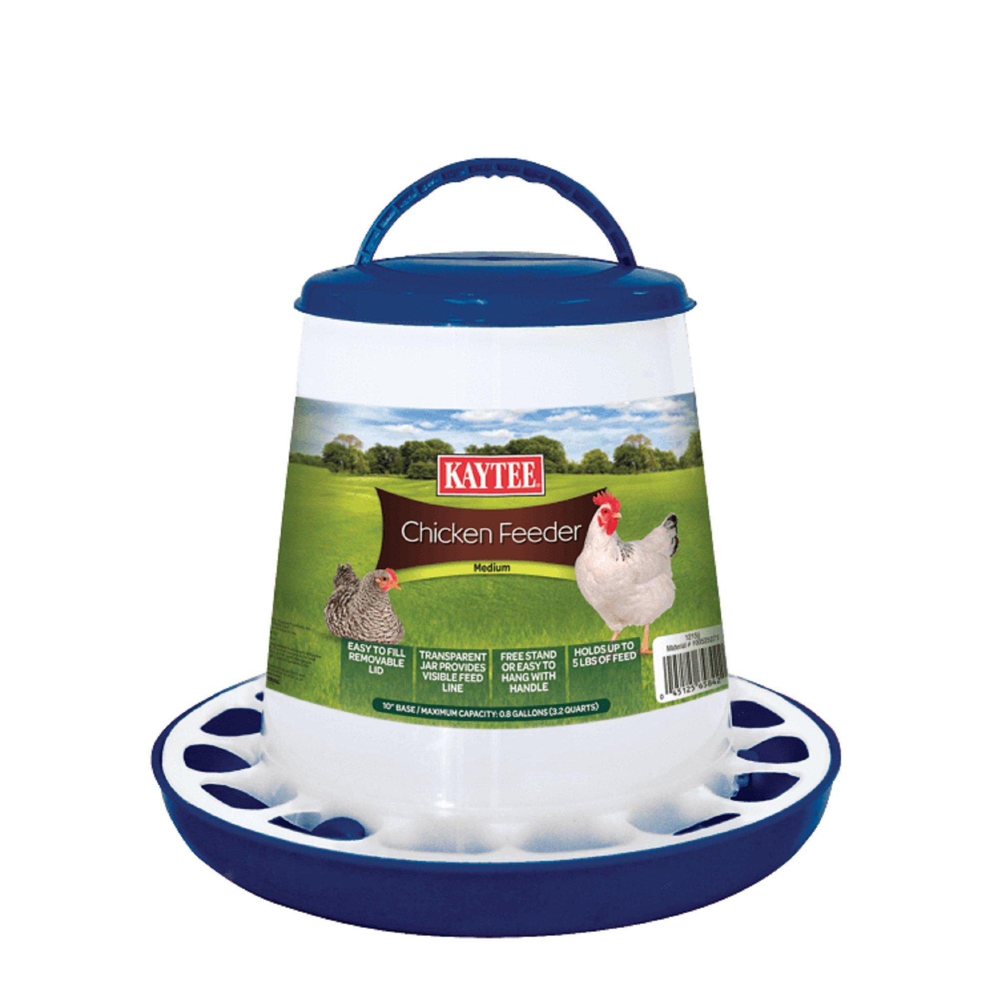 Kaytee chicken plastic feeder for birds petco for Feeder fish petco