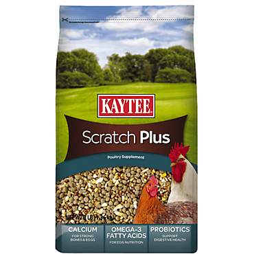 Kaytee Scratch Plus Poultry Supplement for Birds