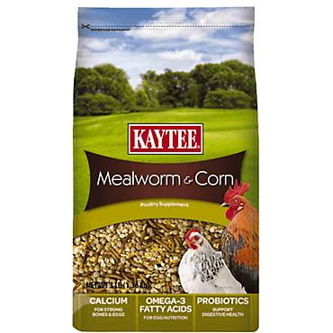 Kaytee Mealworms and Corn Treat for Birds