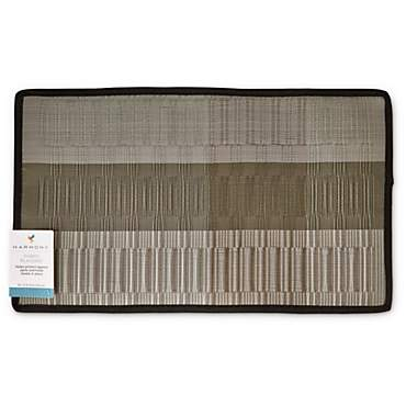 Harmony Silver-Toned Fabric Placemat