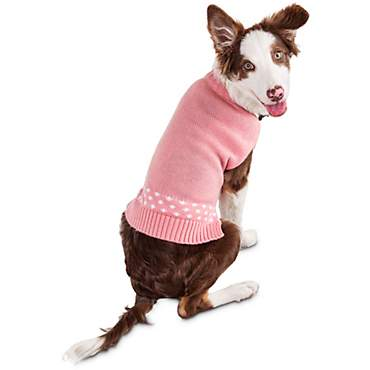 Bond & Co. Perky Pink Dog Sweater