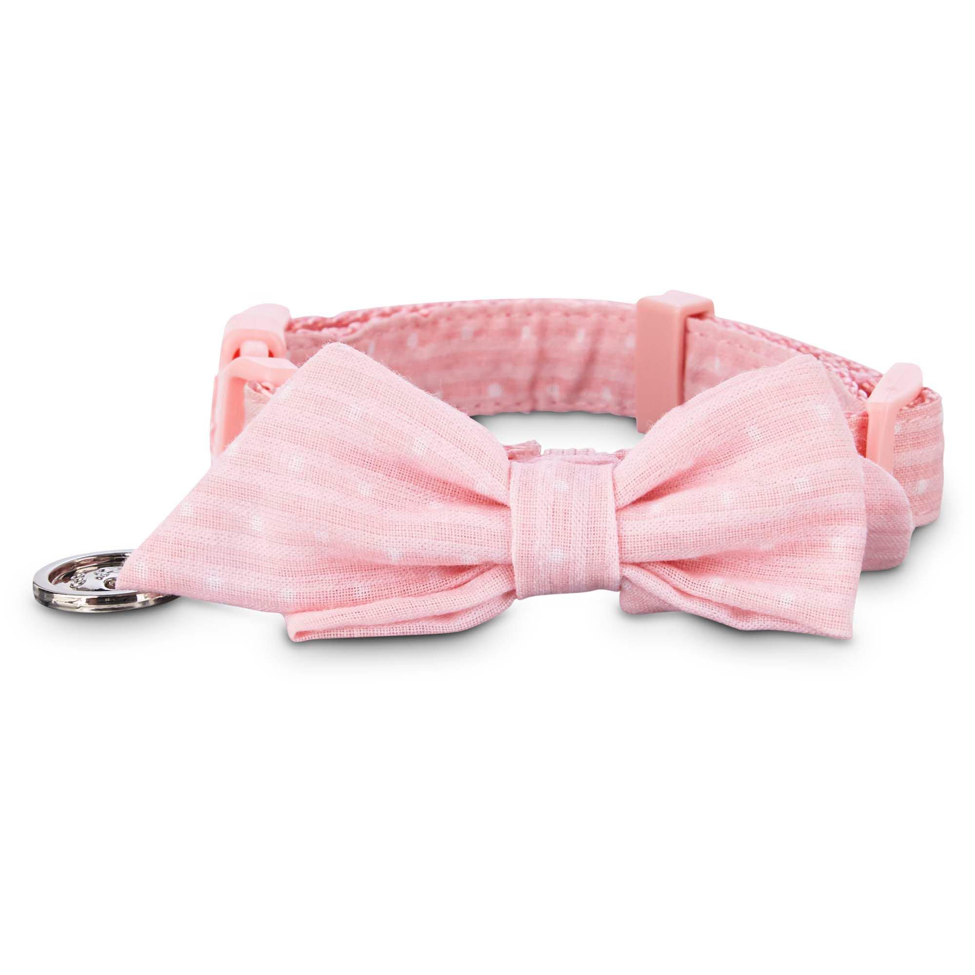 Bond & Co. Pink Polka Dot Puppy Collar | Petco at Petco in Braselton, GA | Tuggl