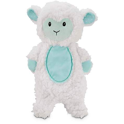 Leaps & Bounds Little Loves Bonding Lamb Plush Puppy Toy