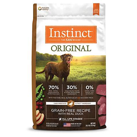 Instinct Original Grain Free Recipe with Real Duck Natural Dry Dog Food by Nature's Variety