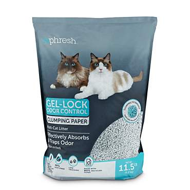 So Phresh Gel-Lock Odor Control Clumping Paper Multi-Cat Litter