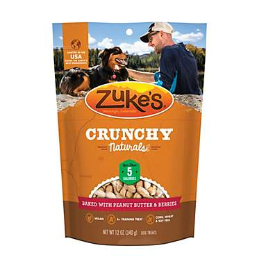 Zuke's Crunchy Naturals 5s Baked With Peanut Butter & Berries Dog Treats