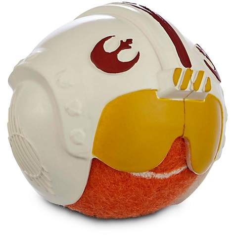 Star Wars Helmet Tennis Ball Dog Toys in Assorted Styles