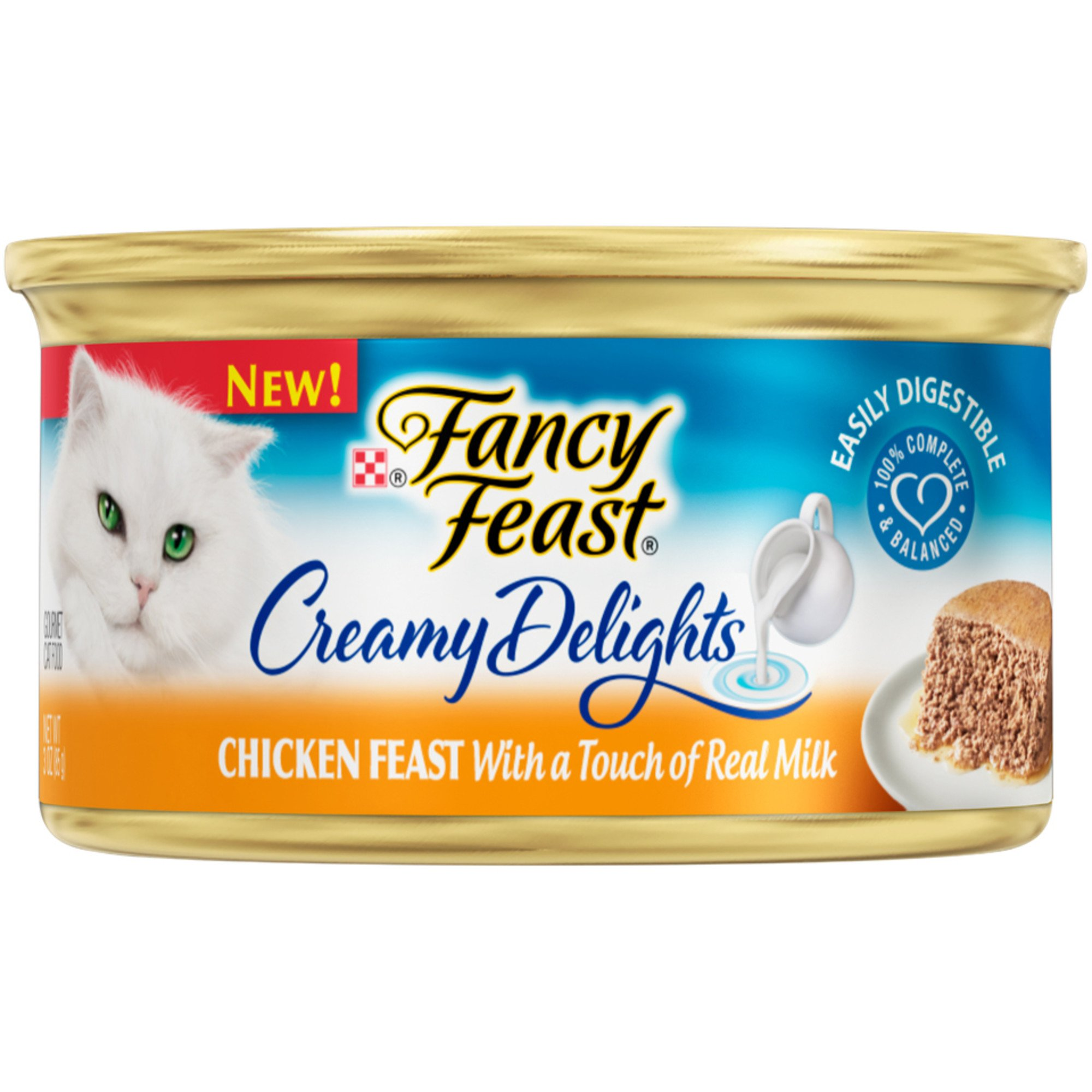 Purina Fancy Feast Creamy Delights Chicken Feast With A