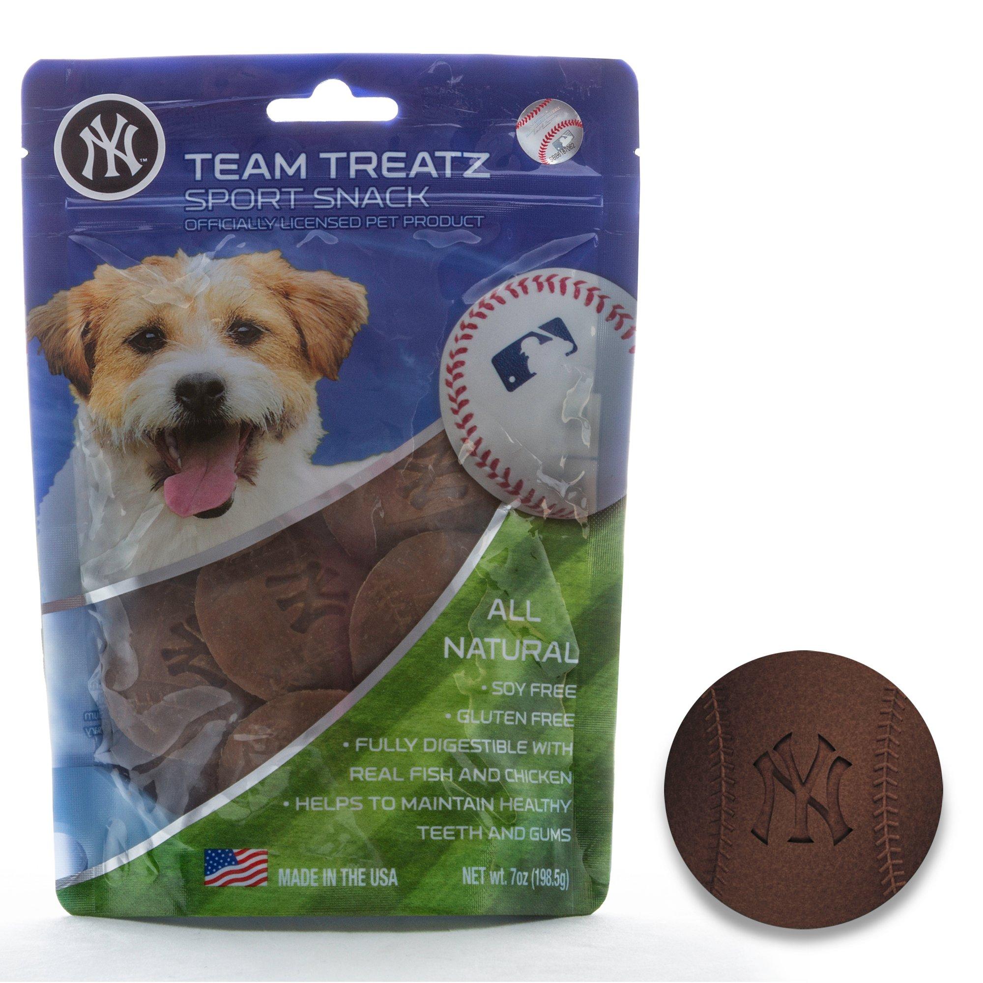 fbc2d428e Pets First New York Yankees Dog Treats