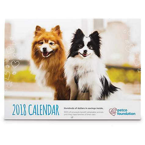 Petco Foundation 2018 Wall Calendar Petco